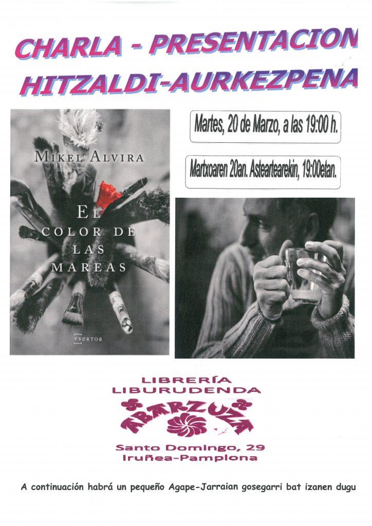 KARTELA COLOR de las MAREAS Mikel alvira